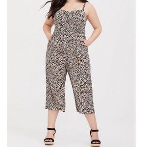 torrid Pants & Jumpsuits - Torrid cheetah print jumpsuit